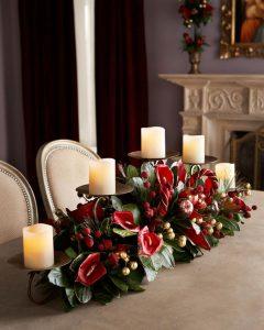 Centro de mesa perfecto para navidad 2018- 2019