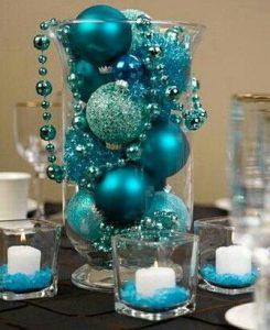Centros de mesa navideños económicos