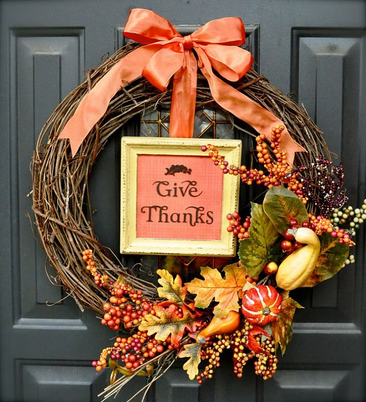 Decoracion Accion De Gracias Ideas Para Thanksgiving