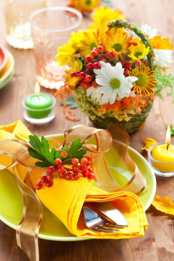 Decoracion mesa accion de gracias decoracion de for Decoracion de mesa para accion de gracias