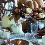 Decoracion mesa accion de gracias