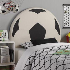 ideas de dormitorio con temática de fútbol Decoracion Recamaras Futbol Soccer