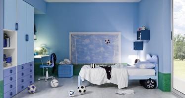 Decoracion de recamaras tema futbol soccer