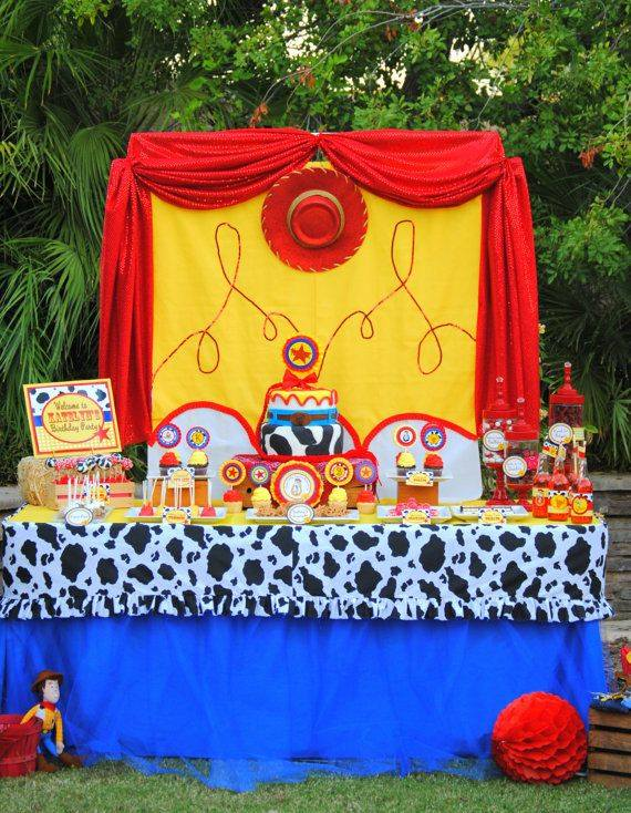 Ideas para fiesta de cumpleaños de Toys Story