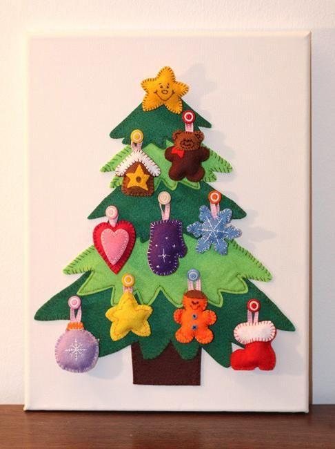 Arbol navide o de foam para pared decoracion de - Decoracion de arboles navidenos para ninos ...