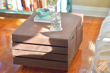 Cajas de madera reutilizar y decorar decoracion de - Como decorar una caja de madera ...