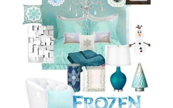 Decoracion de Recamara habitacion de Frozen