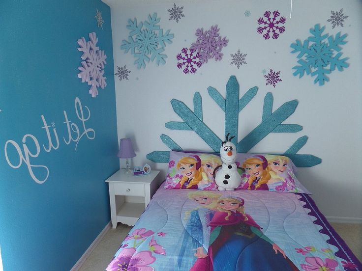 Decoracion de recamara de frozen 4 decoracion de for Cuartos para ninas frozen