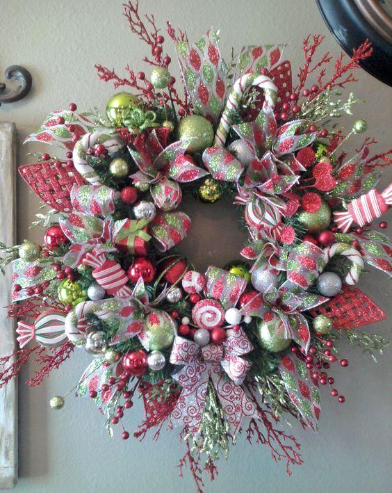 Ideas paso a paso para decorar la puerta para esta navidad diy - Decoracion navidena diy ...