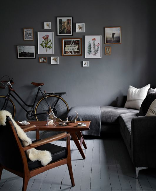 decoracion-color-gris-y-cafe-en-sala-de-estar