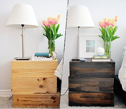 Idea para decorar con buro de madera rustica decoracion for Como decorar un buro