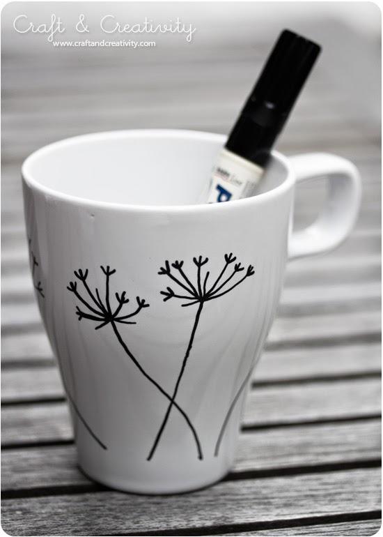 Ideas Para Decorar Tazas De Ceramica