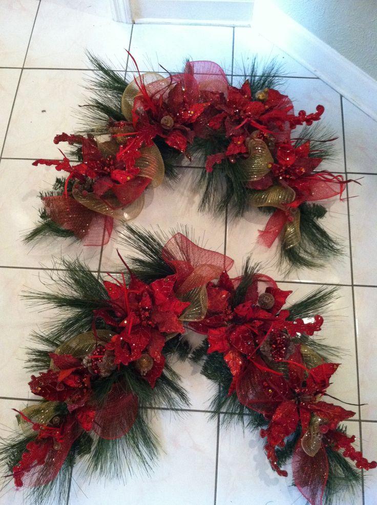 Ideas decorar puerta navidad diy 1 decoracion de for Adornos navidenos para oficina