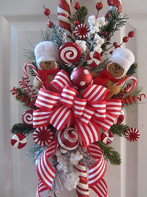 Ideas decorar puerta navidad diy 30 como organizar la for Ideas para adornar puertas de navidad