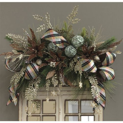 Ideas decorar puerta navidad diy 38 decoracion de - Ideas para decorar la puerta en navidad ...