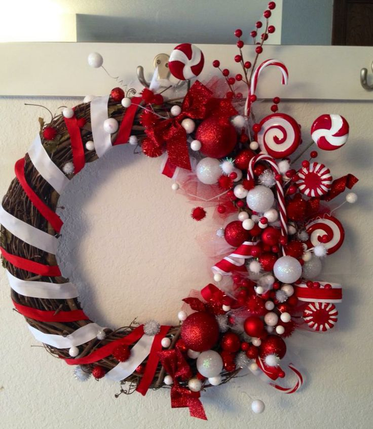 Ideas decorar puerta navidad diy 39 decoracion de for Ideas para christmas de navidad