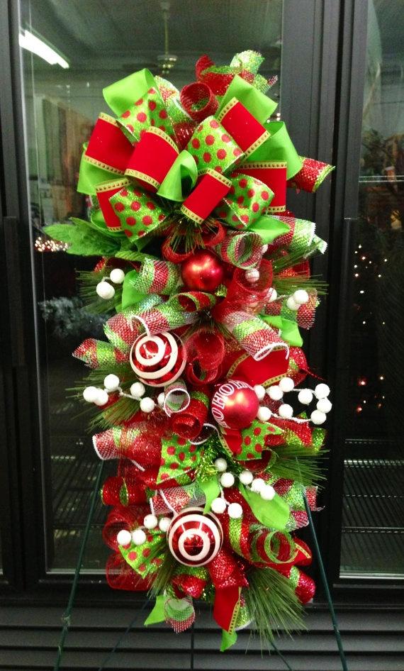 ideas paso a paso para decorar la puerta para esta navidad diy On ideas para decorar la puerta en navidad