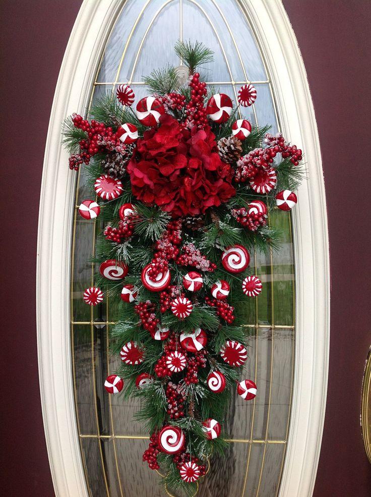 Ideas decorar puerta navidad diy 7 decoracion de for Ideas para decorar la puerta en navidad