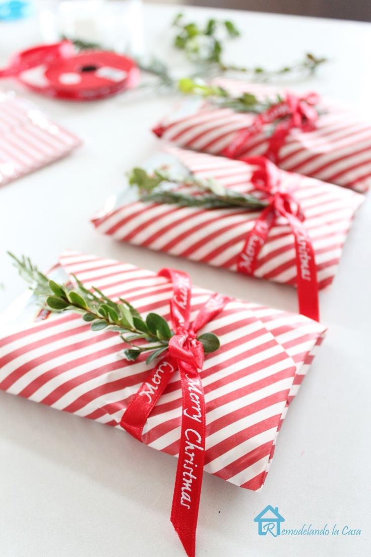 Ideas para envolver regalos para navidad decoracion de for Ideas regalos navidad