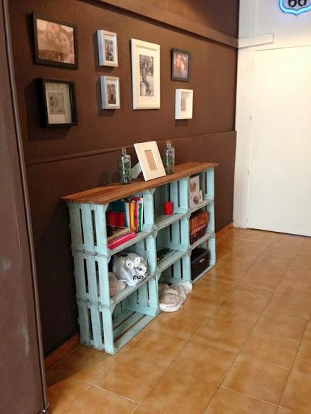 Cajas de madera reutilizar y decorar decoracion de for Como guardar la bici en un piso