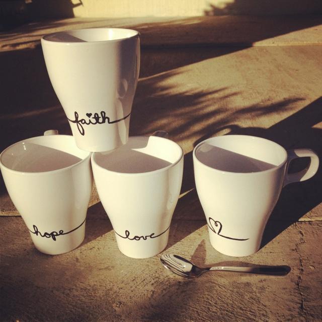 Ideas para decorar tazas de ceramica decoracion de - Decoracion de tazas ...