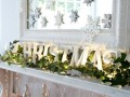 27 ideas para Utilizar Marcos en Decoraciones para Esta Navidad