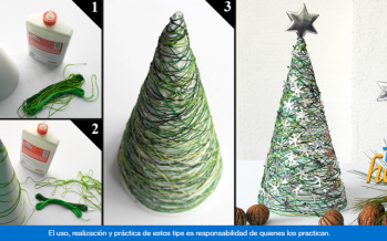 Como Hacer Pinos De Navidad Miniatura