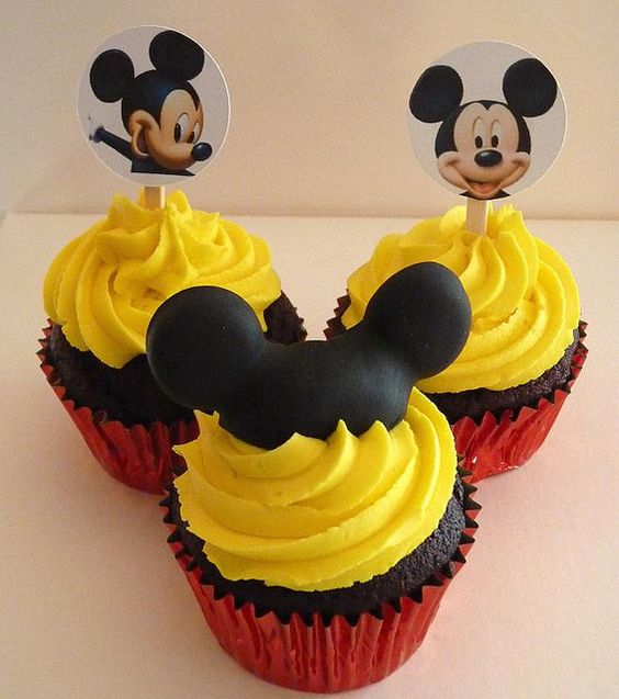 Cupcakes de mickey mouse (2)