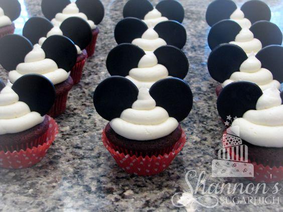 Cupcakes de mickey mouse (4)