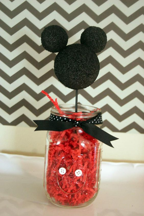 Decoracion de mickey mouse sencilla (2)
