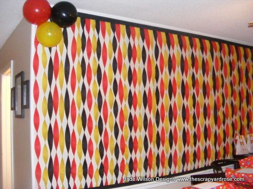 Decoracion de mickey mouse sencilla (3)