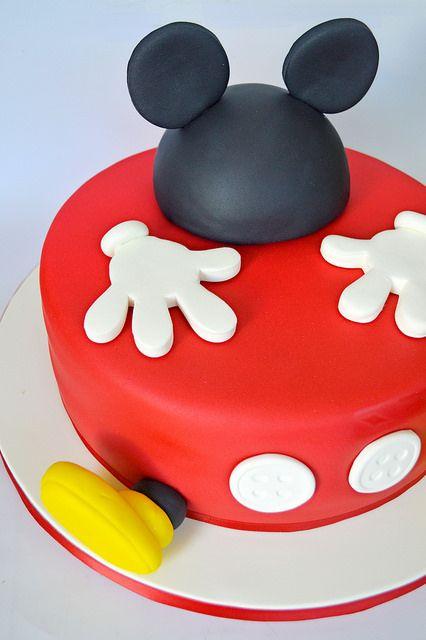 Disenos de pasteles de Mickey Mouse (3)