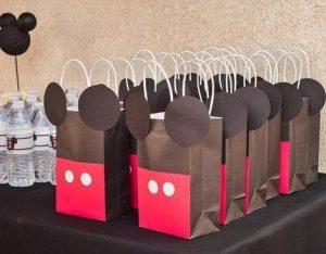Dulceros para cumpleaños de Mickey Mouse