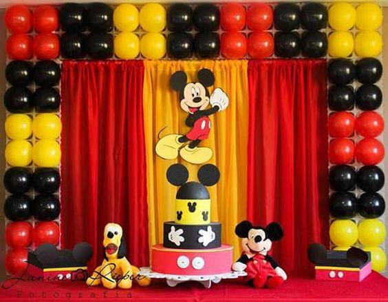 Ideas para fiesta de cumpleaños de Mickey Mouse