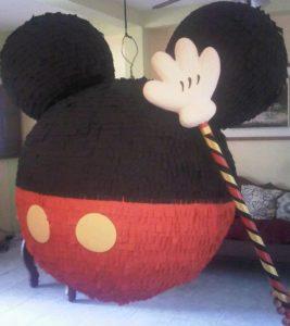 Piñatas para cumpleaños de Mickey Mouse