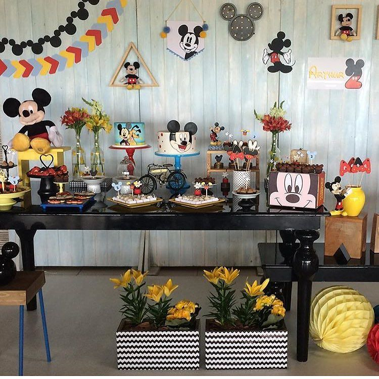 Tendencias de decoracion de fiesta de mickey mouse 2018 (4)