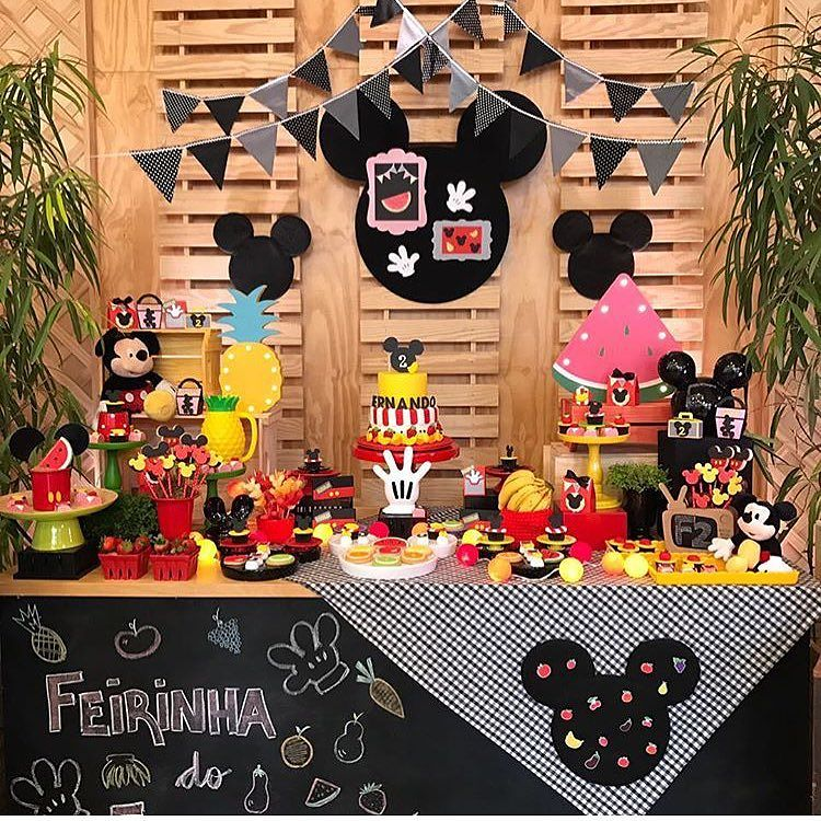 Tendencias de decoracion de fiesta de mickey mouse 2018 5 for Decoracion la casa de mickey mouse