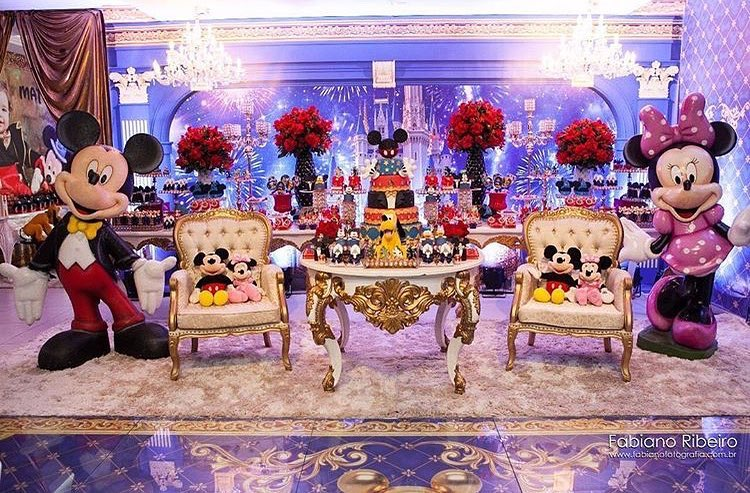 Tendencias de decoración de fiesta de mickey mouse 2018