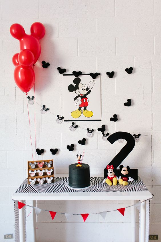 Tendencias en decoracion para fiesta de mickey mouse (5)