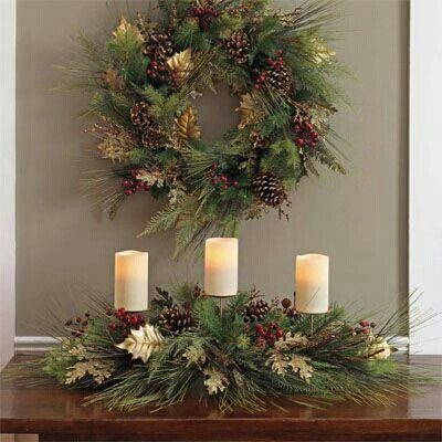 Adornos centro mesa de navidad 27 decoracion de - Decoracion mesa de navidad ...