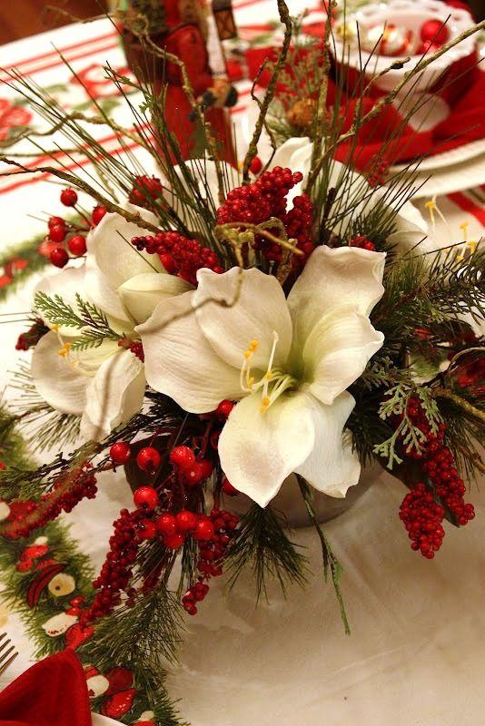 Adornos centro mesa de navidad 28 decoracion de - Adornos navidenos elegantes ...