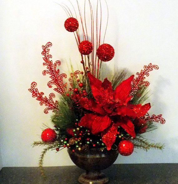 Adornos para centro Mesa de Navidad 2018 - 2019