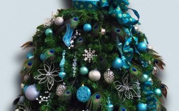 Arbol o pino de Navidad con Forma de Vestido