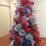 arbolitos de navidad capitan america