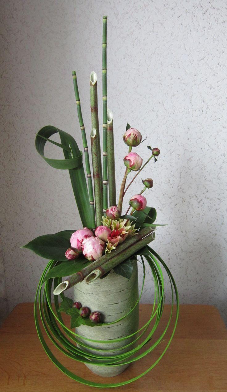 Ideas para centros de mesa modernos arreglos florales for Adornos de pared modernos