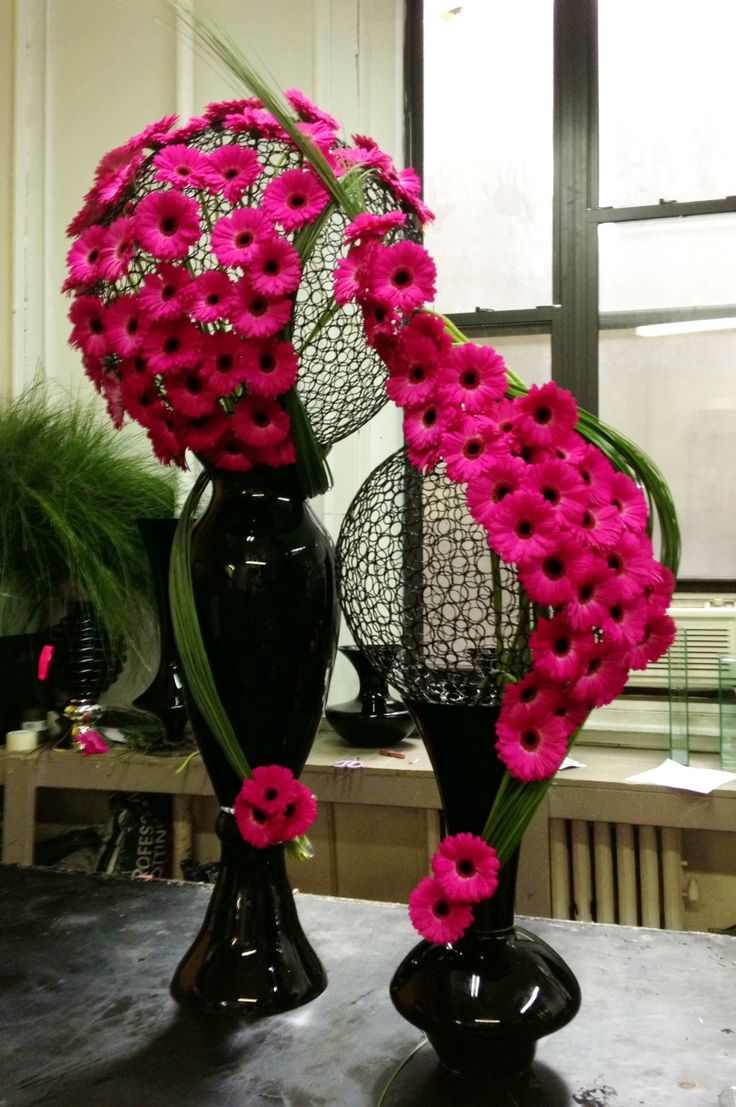 Ideas para centros de mesa modernos arreglos florales for Adornos modernos para decorar