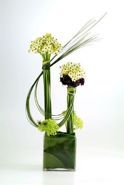 modernos arreglos florales centros de mesa - Arreglos Florales Modernos