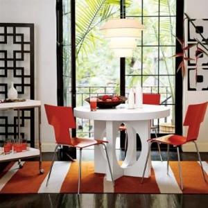 Decoracion de comedores minimalistas for Decoracion de cocinas comedores modernos