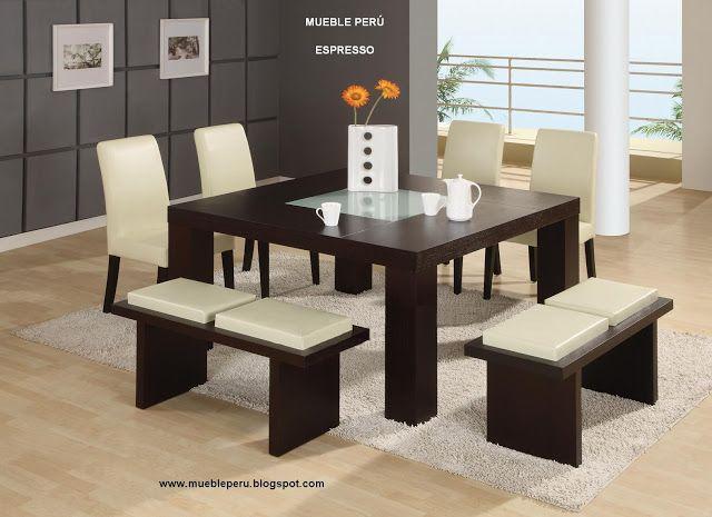 comedores minimalistas 18 decoracion de interiores