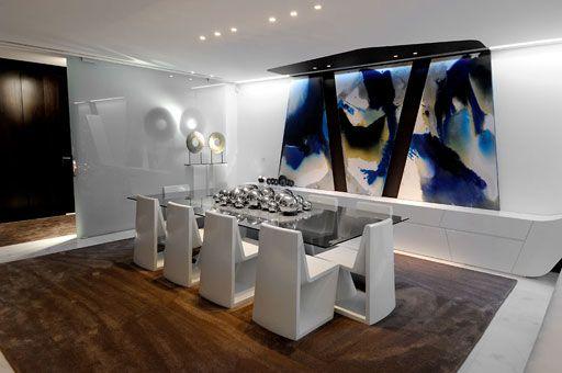 Comedores minimalistas 2 decoracion de interiores for Decoracion salas minimalistas modernas
